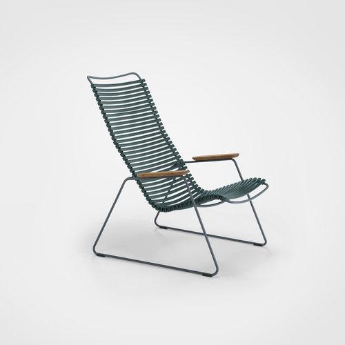 HOUE tuinmeubelen Click loungestoel | Pine green