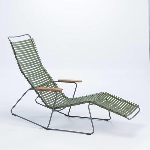 HOUE tuinmeubelen Click sunrocker | Olive Green