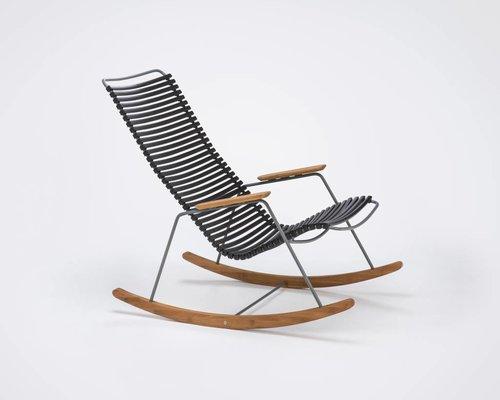 Click schommelstoel  | Black