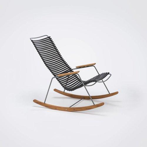 HOUE tuinmeubelen Click schommelstoel  | Black