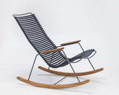 Click schommelstoel | Dark Blue