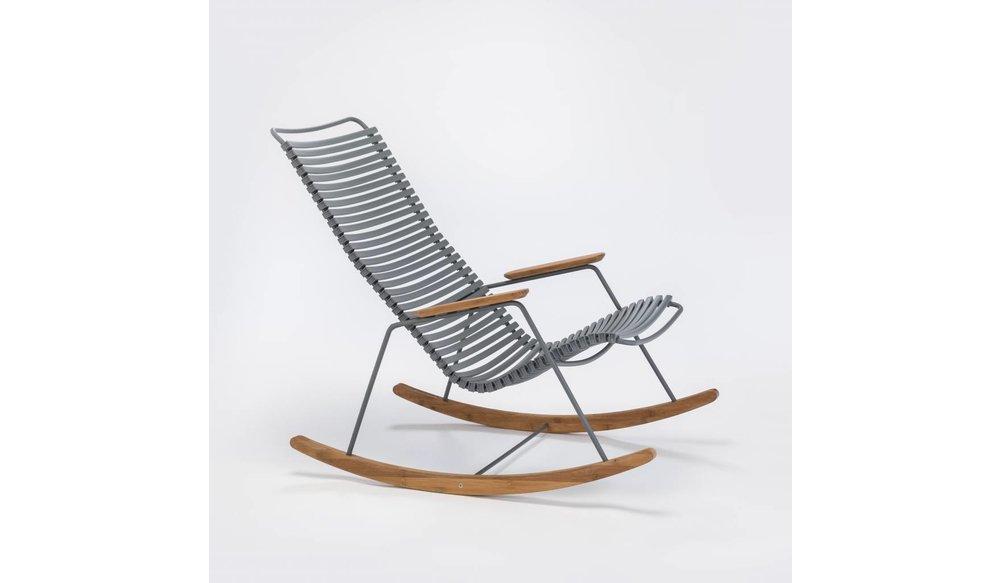 Click schommelstoel | Dark Grey
