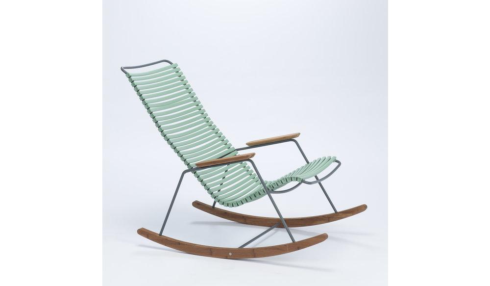 Click schommelstoel | Dusty Green