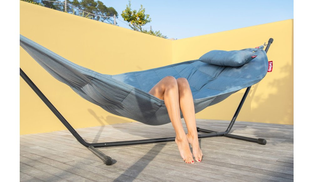 Hangmat Headdemock | Sunbrella Deluxe Zilver