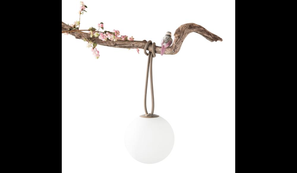 Bolleke hanglamp | Taupe