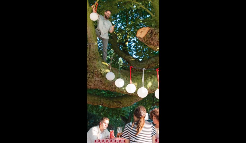 Bolleke hanglamp | Rood