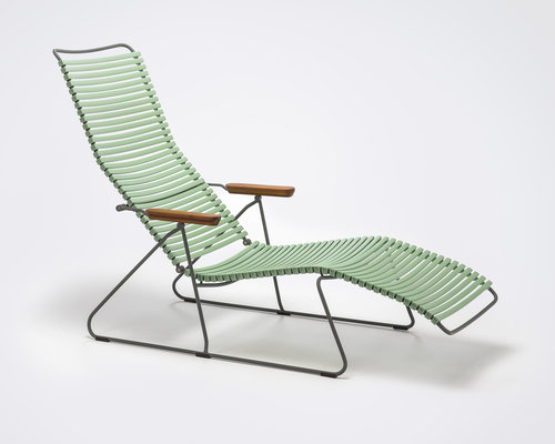 Click sunlounger | Dusty Green