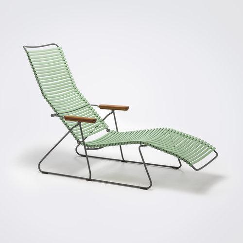 HOUE tuinmeubelen Click sunlounger | Dusty Green