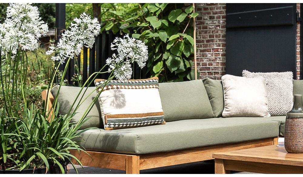 Coffee Bay lounge| 2-zits bank met armleuning rechts