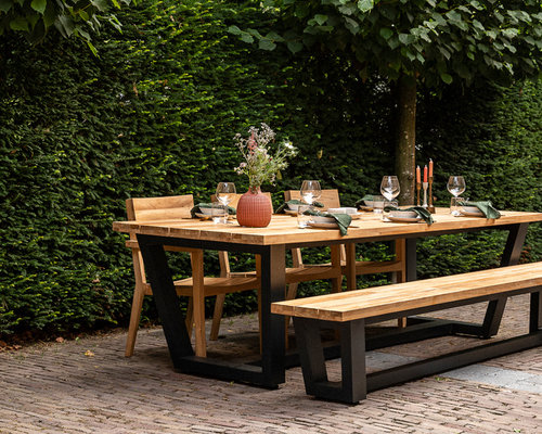 Tuinset | George tuintafel met Norden tuinstoelen