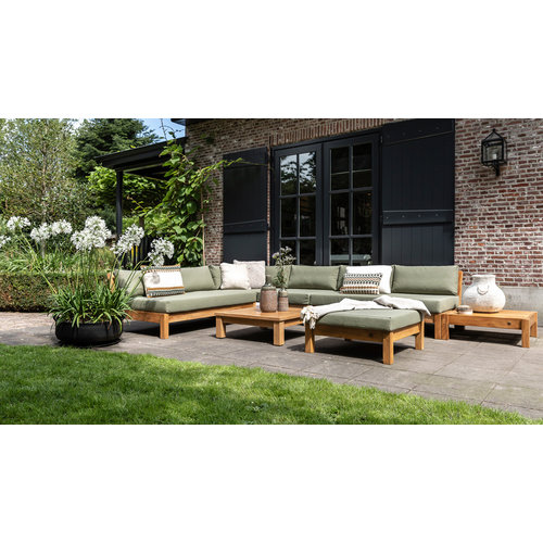 Garden Teak Coffee Bay Loungeset | Opstelling 12