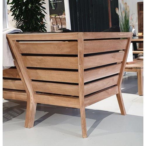 Wolfwood tuinmeubelen Porto lounge dining | Hoek module