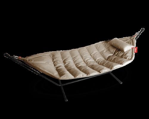 Hangmat Headdemock | Sunbrella Deluxe Natuur grijs Grijs
