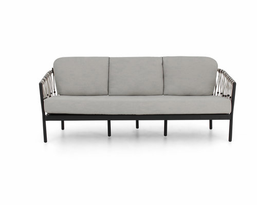 Menton loungebank   Zwart