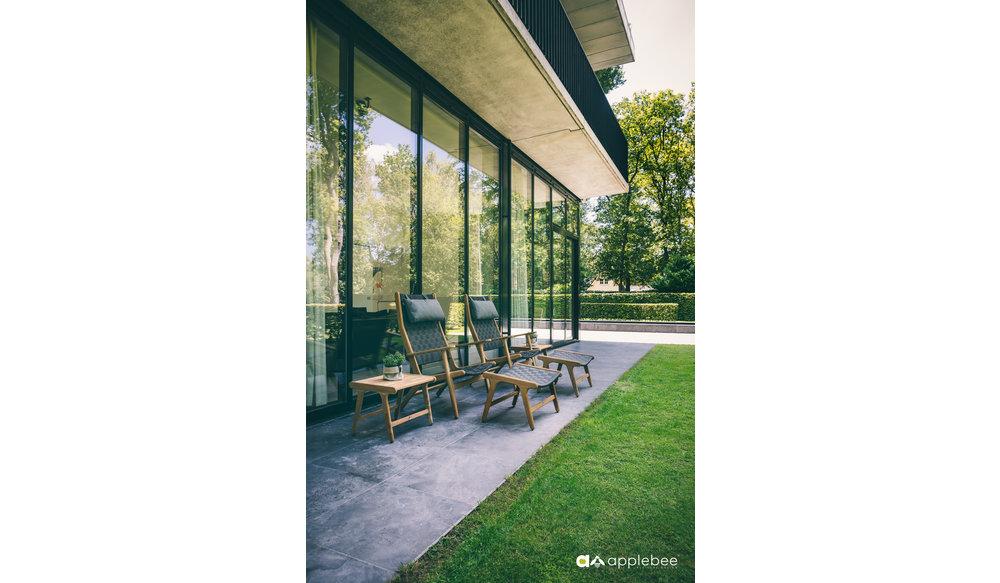 Luc loungestoel | Hoge rug