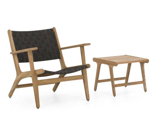 Luc loungestoel | Lage rug
