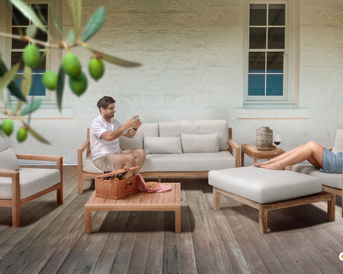 Olive loungebank