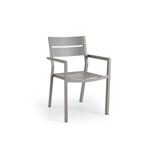 Brafab  Delia tuinstoel aluminium | Brafab | Khaki