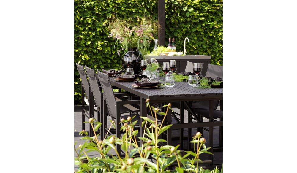 Vevi tuinstoel aluminium | Brafab