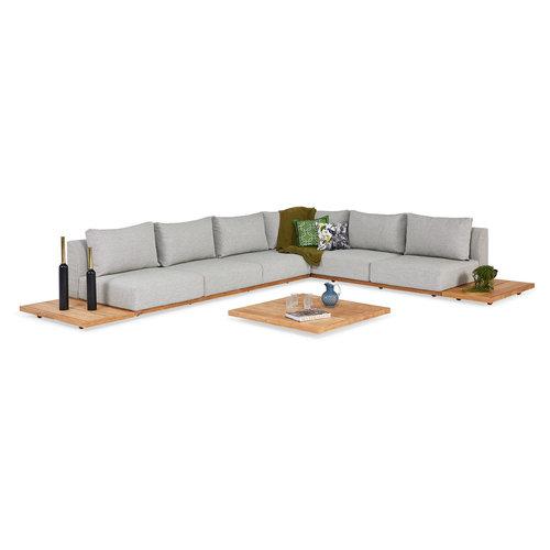SUNS tuinmeubelen Aspen Loungeset | Opstelling 1