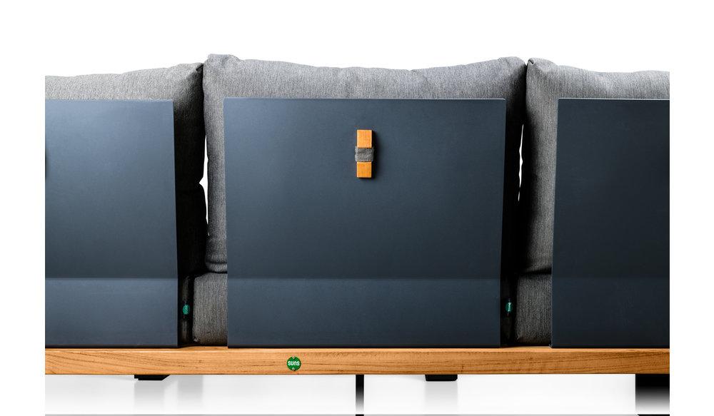 Nardo loungeset | mat grijs | Light anthracite mixed weave| opstelling 2