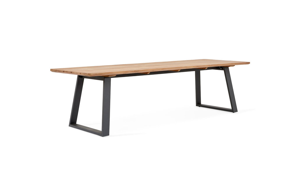 Tomar tuintafel | 220 x 100 cm | Mat Royal Grey