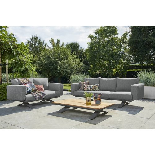 SUNS tuinmeubelen Stockholm Loungeset | 2- en 3 persoons loungebank incl. salontafel