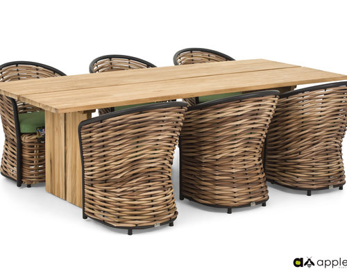 Cocoon Diningset | Opstelling 1