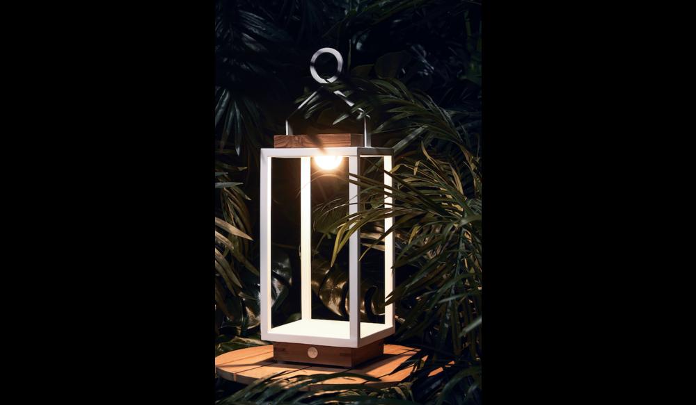 Coco | Lamp M | Mat Wit
