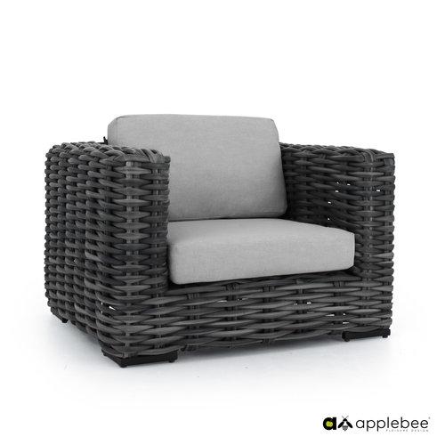 Apple Bee tuinmeubelen Elements XL Loungestoel | Black Wash