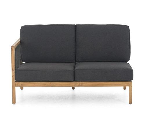 La Croix | Loungebank | 2 zits | Leuning rechts | Applebee