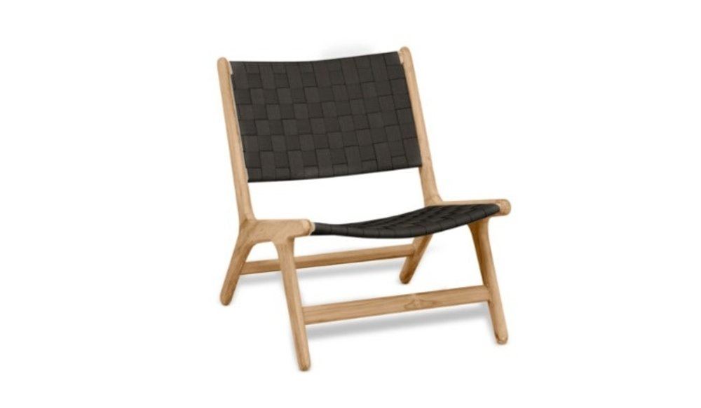 Luc loungestoel | Lage rug | Zonder armleuning