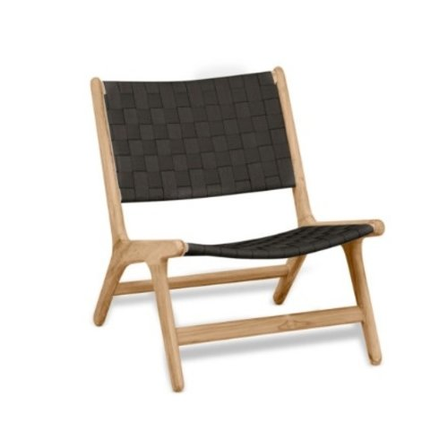 Apple Bee tuinmeubelen Luc loungestoel | Lage rug | Zonder armleuning