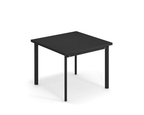 Tuintafel Star | 90 x 90 | Zwart