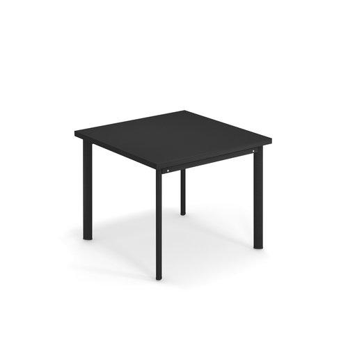 EMU Tuintafel Star | 90 x 90 | zwart