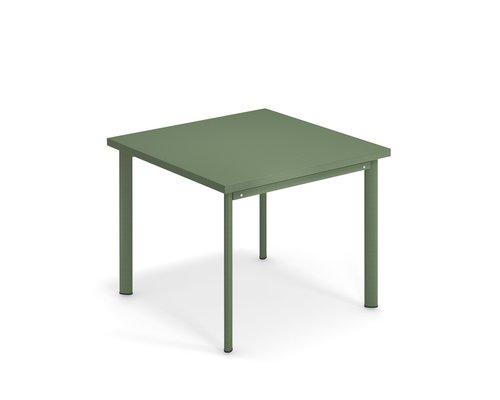 Tuintafel Star | 90 x 90 | leger groen