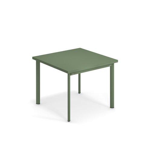 EMU Tuintafel Star | 90 x 90 | leger groen