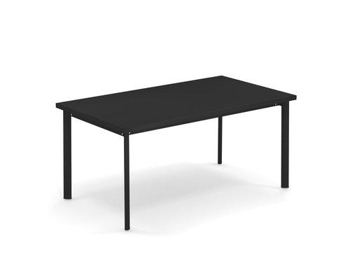 Tuintafel Star   160 x 90   Zwart