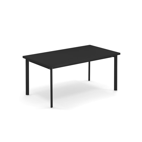 EMU Tuintafel Star | 160 x 90 | zwart