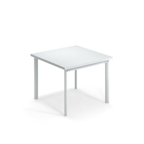 EMU Tuintafel Star | 90 x 90 | Wit