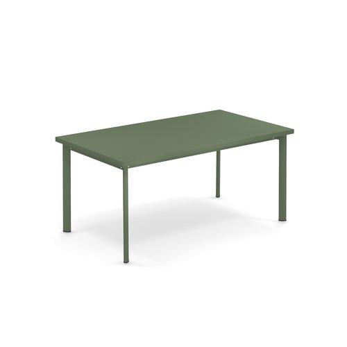 EMU Tuintafel Star | 160 x 90 | Leger Groen