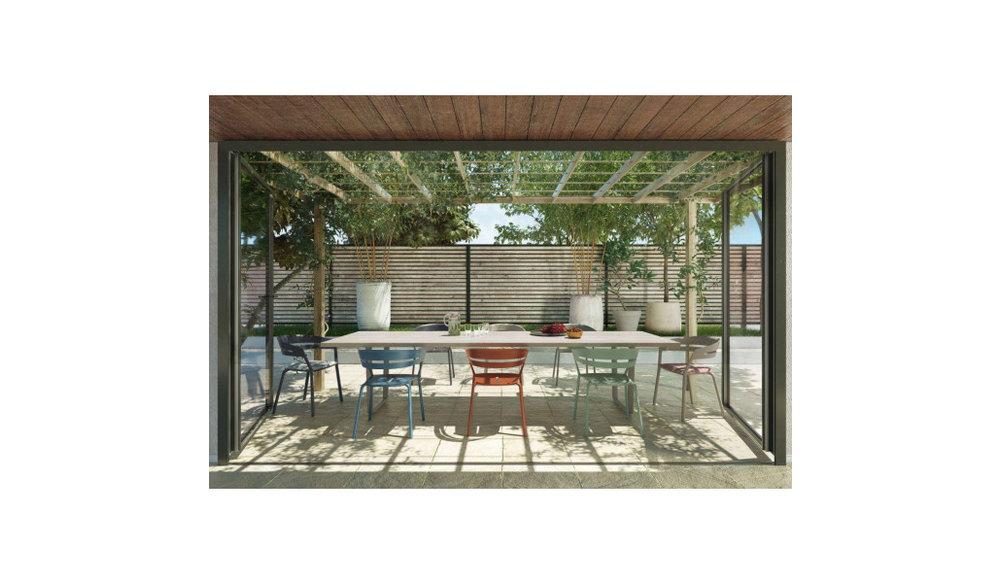 Ria | Tuinstoel | Fast | Terracotta