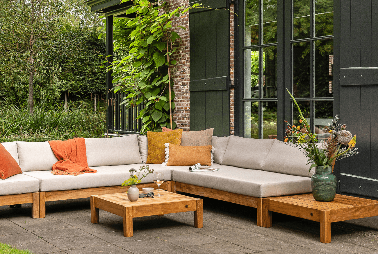 Perfect voor in de klassieke, Engelse tuin: Coffee Bay Loungeset