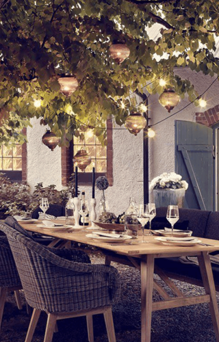 Klassieke, romantische, Engelse tuin