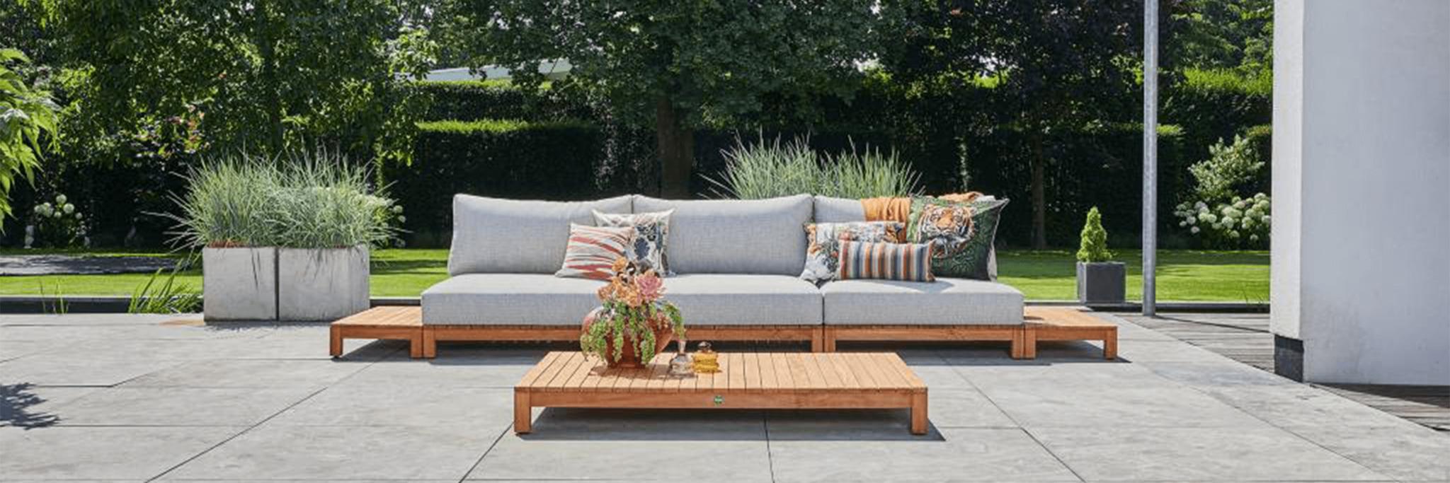 SUNS Portofino houten loungeset