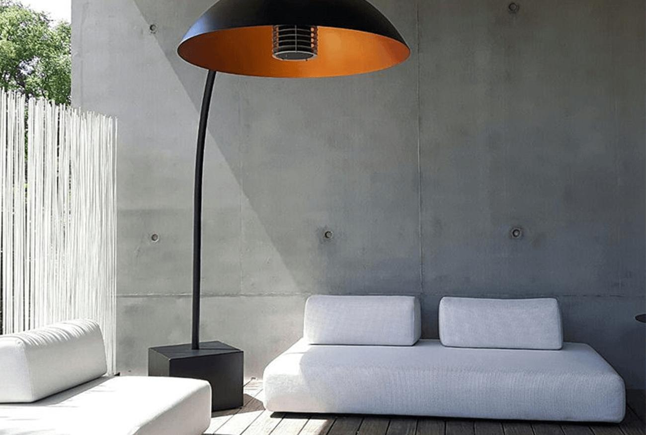 Heater Dome terrasverwarming verlichting