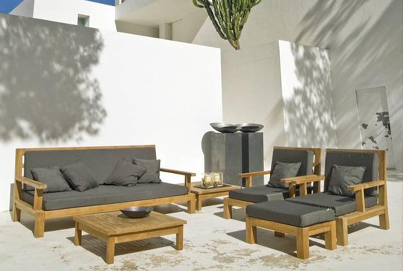 Daybed Lounge voor een Mediterraanse tuin