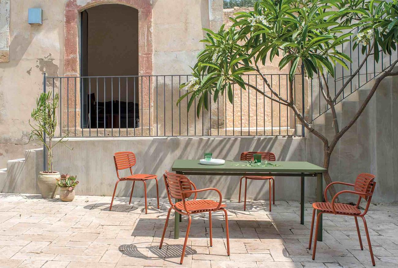 EMU tuinstoelen passen perfect in jouw Mediterraanse tuin