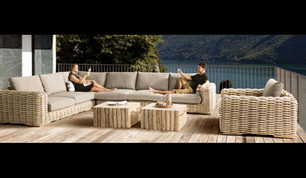 FFF Lounge hoek | Taupe