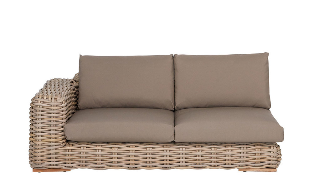 FFF Lounge bank rechts  | Taupe